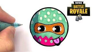 tuto dessin hopper skin fortnite emoji - comment dessiner le bus de fortnite