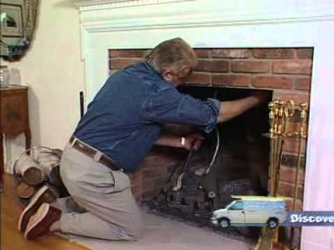 Fireplace Plug Seals the Chimney and Stops Drafts - YouTube
