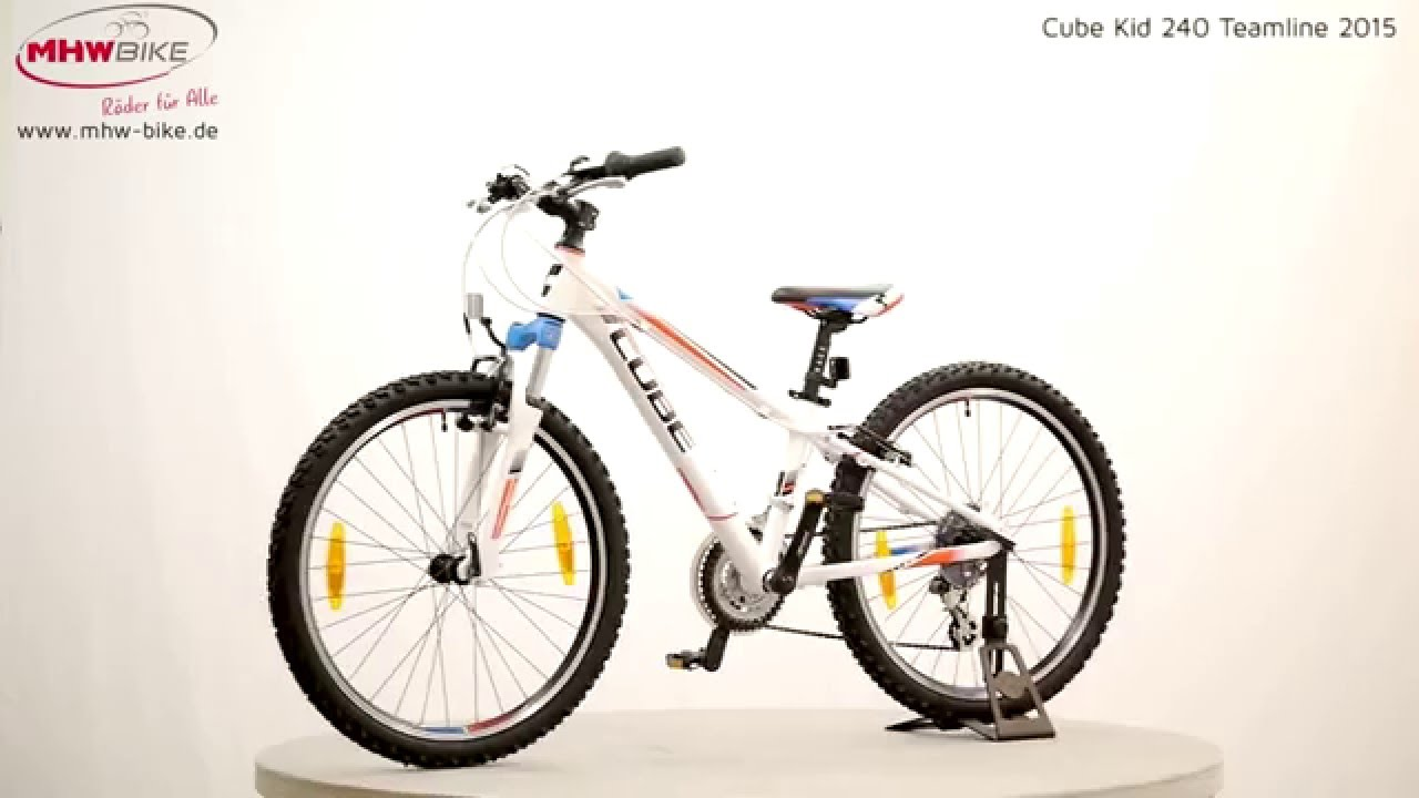 cube kid 240 teamline 2015 kinder mountainbike 24 zoll. Black Bedroom Furniture Sets. Home Design Ideas