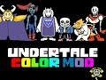 Colored Sprite Mod Undertale
