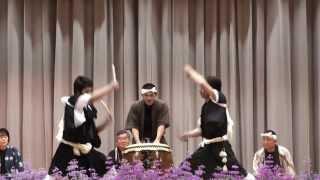 「天平太鼓」in 鹿島中学校 2013