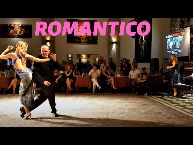 Romántico. Pancho Martinez Pey, Lorena Ermocida, Misteriosa Buenos Aires orquesta de tango baile