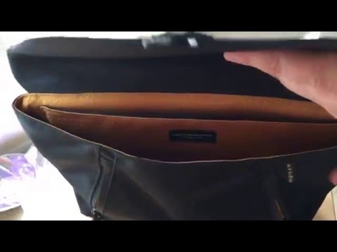 Review: Get the Staad Attaché by WaterField Designs for the MacBook and Travel in Style