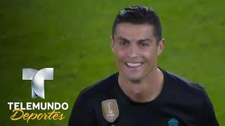 Aficin rabe grita Messi Messi a Cristiano Ronaldo  Copa Mundial de Clubes FIFA  Telemundo