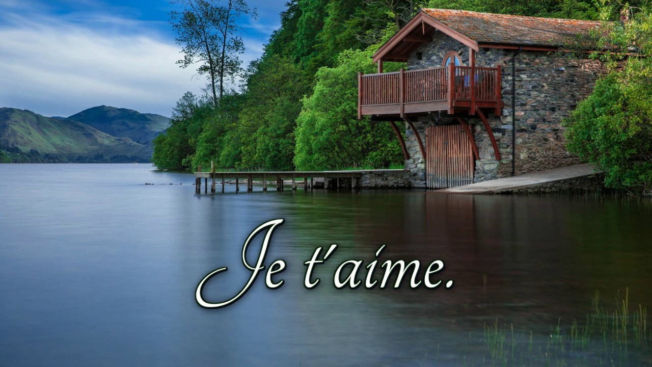 How to pronounce je t aime in french