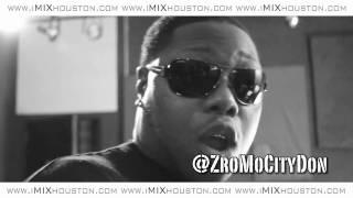 zro in studio 2011 freestyle at imixhouston with bruce bang