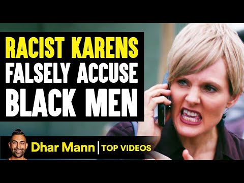 RACIST KARENS Falsely Accuse BLACK MEN, They Instantly Regret It | Dhar Mann