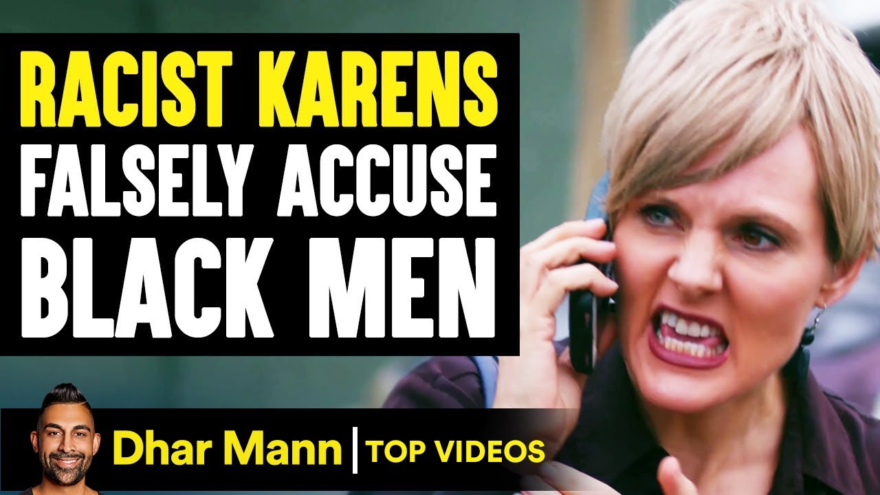 Download RACIST KARENS Falsely Accuse BLACK MEN, They Instantly Regret It   Dhar Mann
