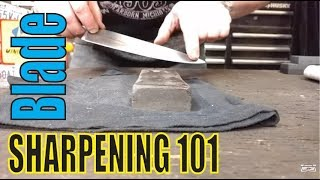 How to sharpen a knife -Basic Sharpening Techniques