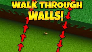 How to WALK THROUGH WALLS! | Build a boat For Treasure ROBLOX