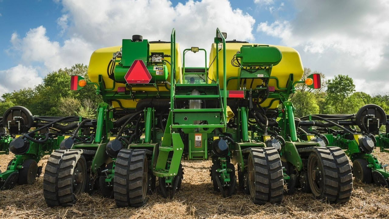 biggest john deere tractor in the world amazing agriculture technology 2016