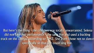 Truth Revealed About Selena Gomez's AMA Performance