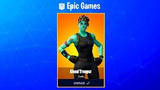 When Is The Ghoul Trooper RETURNING?! (RELEASE DATE) Fortnite Ghoul Trooper COMING BACK (RETURNS)