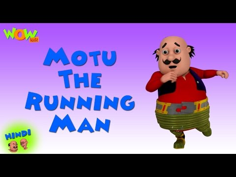 Motu The Running Man- Motu Patlu in Hindi - 3D Animation Cartoon for Kids -As on Nickelodeon thumbnail