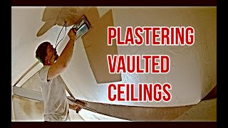 How To Plaster A Vaulted Ceiling - Plastering For Beginners