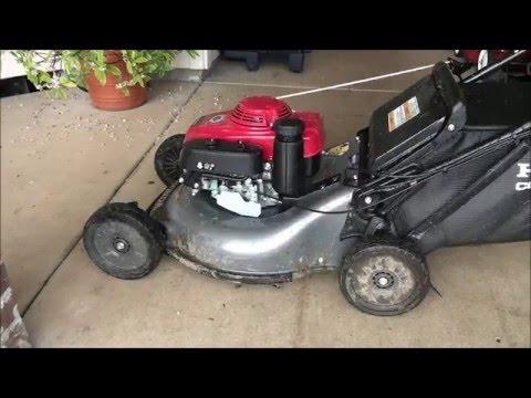 LAWNMOWER GOVENOR ADJUSTMENT: Honda Lawn mower REVS UP ... | Doovi