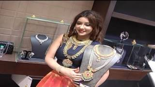 Actress Payal Ghosh Dazzles in Diamond Jewellery Expo | Hyderabad | HMTV