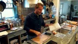 Opensky: Michael Ruhlman - Cutting Board With Ipad Holder