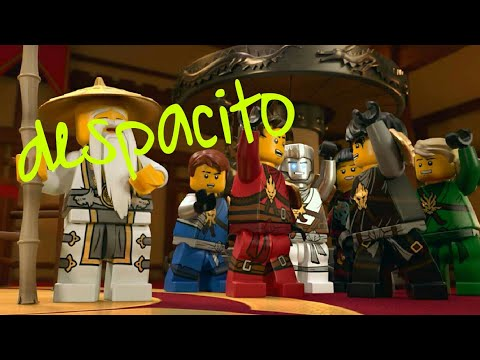 Lego Ninjago Tribute Despacito Youtube - despacito jaboncito roblox