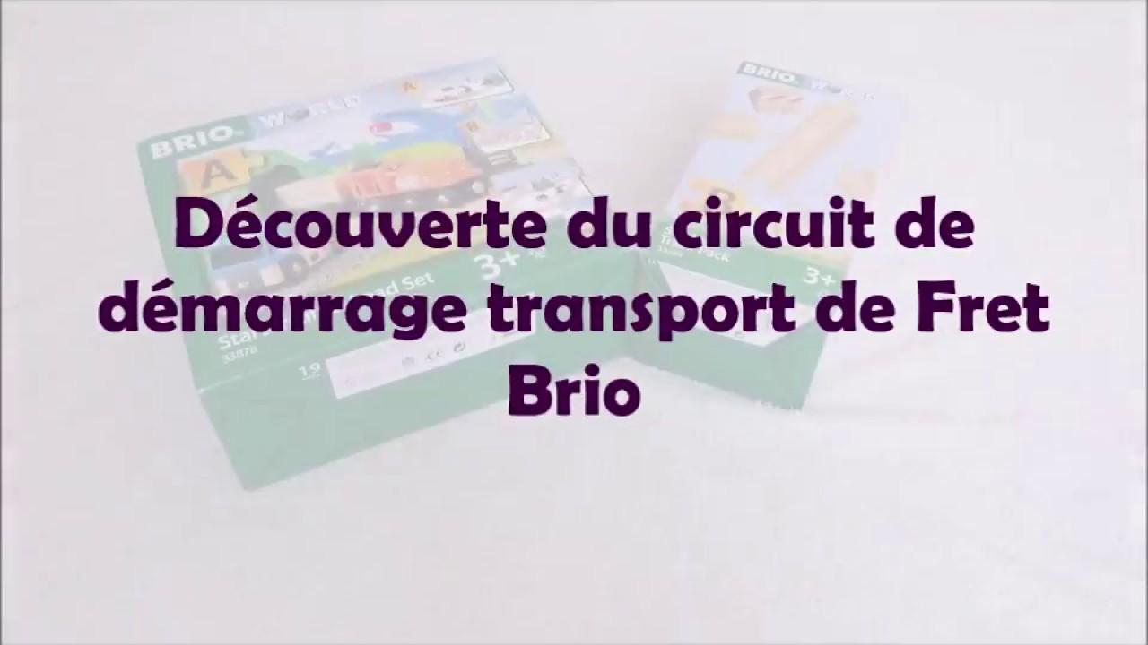 Test du circuit de démarrage transport de fret BRIO -Test blog-