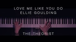 Ellie Goulding - Love Me Like You Do   The Theorist Piano Cover  - Durasi: 4:54.
