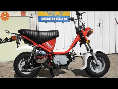 Yamaha Chappy 50cc : Une épave Ressuscitée Venue De Cancún