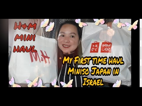 What to buy in Miniso  and H & M