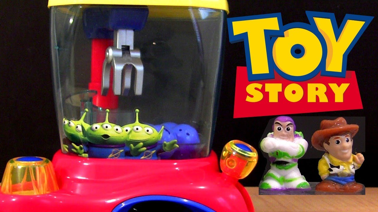 Toy Story Toys Official Toy Story Crane Dispenser Squinkies From Blip Toys Youtube