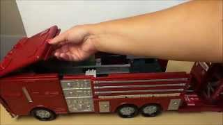 🚒🚨 Amazing Transforming Chad Valley Fire Engine Into Fire Station Toy