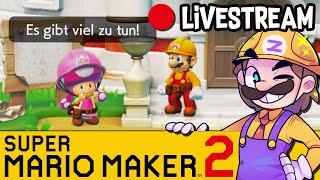 Super Mario Maker 2 - Zweiter Storymodus Stream!