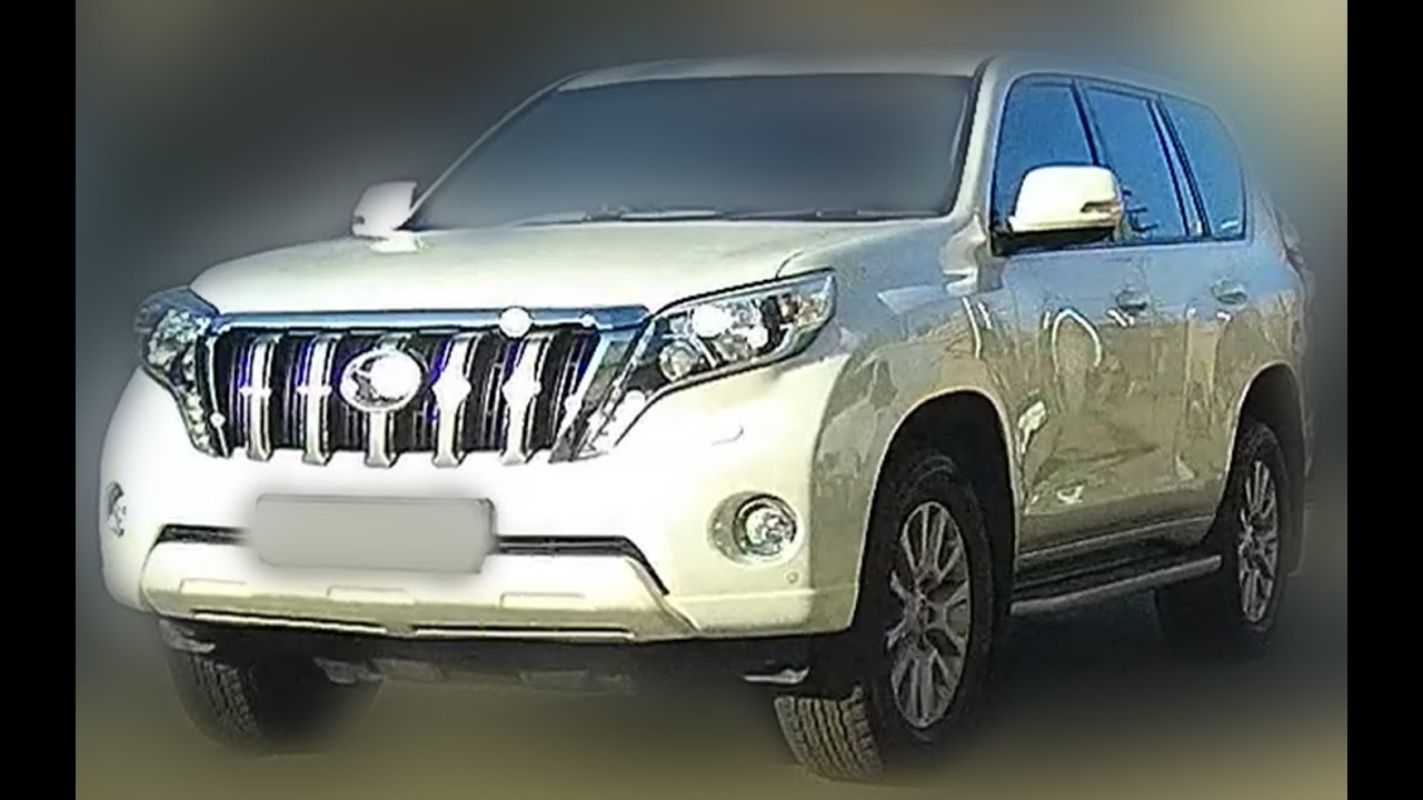 brand new 2017 toyota land cruiser prado suv new model production 2017 youtube. Black Bedroom Furniture Sets. Home Design Ideas