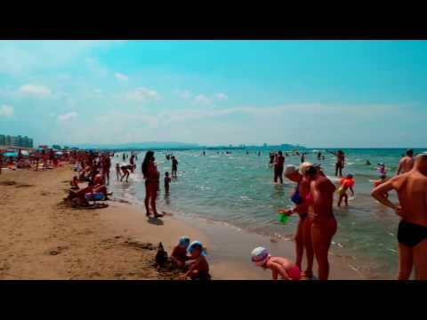 Анапа Джемете видео 2019 пляж море и курортный поселок