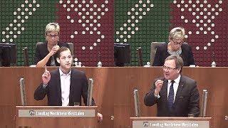 Rededuell zwischen Armin Laschet (CDU) ◄ ► Roger Beckamp (AfD):