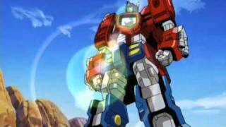 Transformers Armada Optimus prime and Megatron Cybertronian Forms