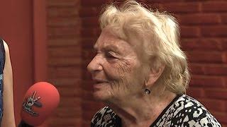 83 Yaşındaki Filiz Hanım Stüdyoyu Yıktı Geçti - O Ses Türkiye 15 Kasım 2016