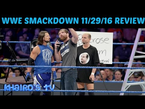WWE Smackdown 11/29/16 Review, Reaction & Results: WWE TLC 2016 Go Home Show & Debut Of #205Live