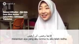 Video Kun Anta Humood Alkhudher Cover Cewek Hijab Cantik Mimi Nazrina download MP3, 3GP, MP4, WEBM, AVI, FLV Oktober 2017