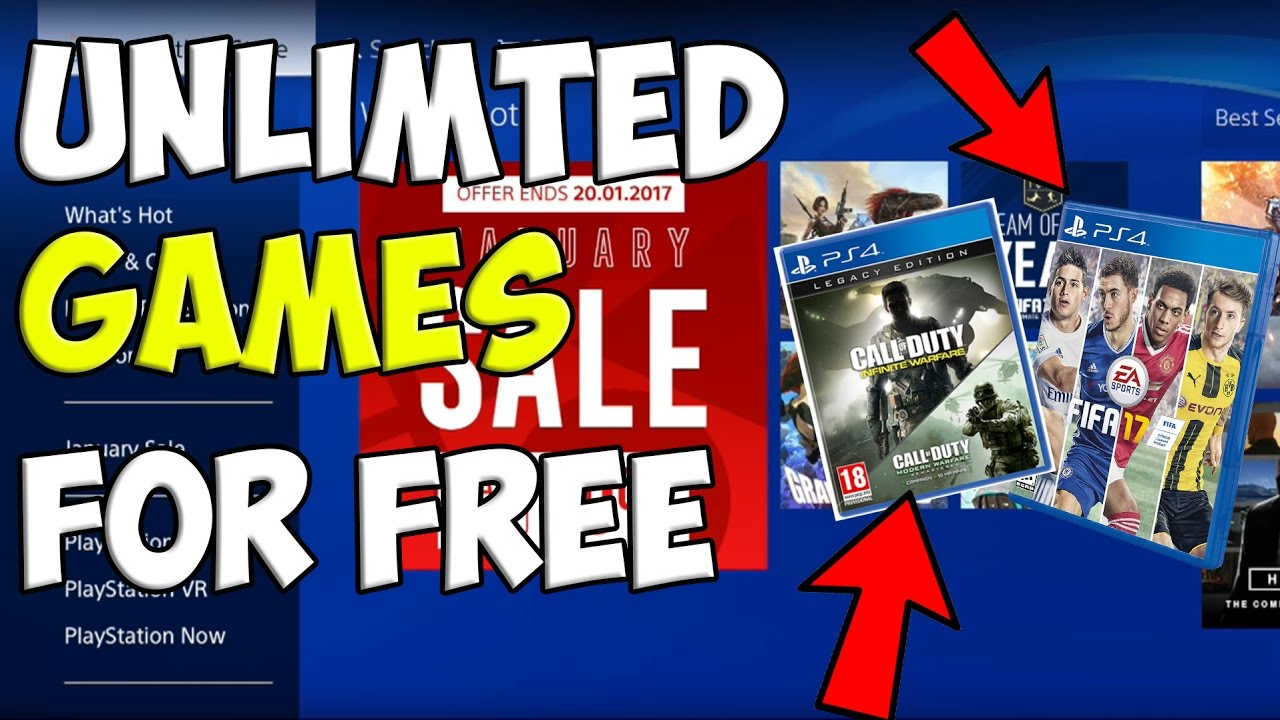 how to get free ps4 games 2017