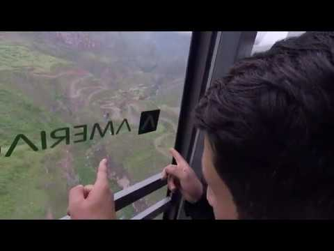 WORLD'S LONGEST NON-STOP DOUBLE TRACK CABLE CAR RIDE! Wings Of Tatev Cableway Aerial Tramway Armenia
