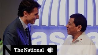 Trudeau, Duterte on human rights conversation