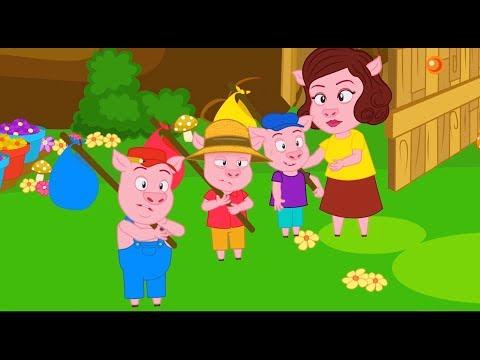 2 Contes | Les 3 Petits cochons + Le Loup et les 7 Chevreaux avec les P'tits z'Amis