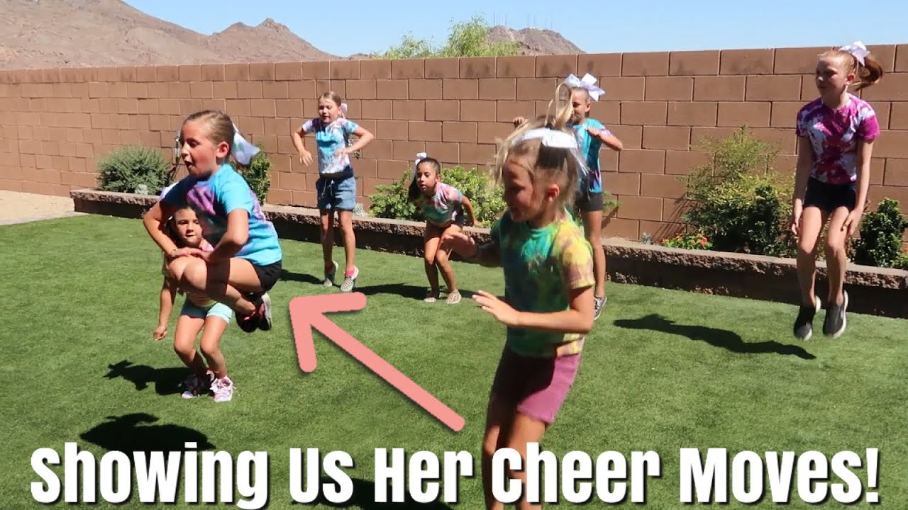 She's a Standout Cheerleader! / Hallie Goes To a Cheer-leading Clinic
