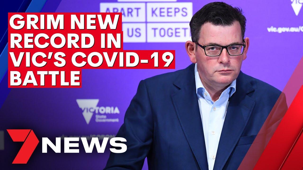 Coronavirus: Victoria's grim numbers as new COVID-19 cases surpass 700 | 7NEWS