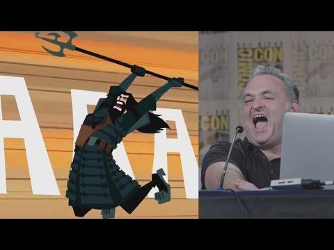 Samurai Jack season 5 opening sequence narrated by Genndy Tartakovsky