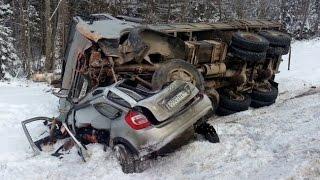 Жесткие аварии 2й недели Января 2016