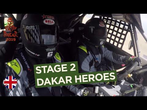 Dakar Heroes - Stage 2 (Pisco / San Juan de Marcona) - Dakar 2019