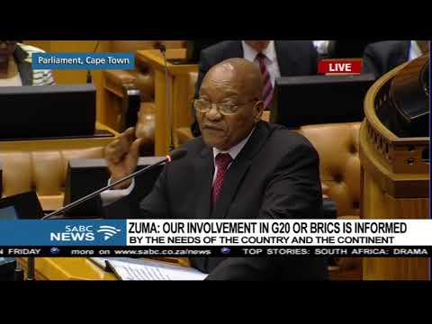 Jacob Zuma answers questions on HH and Zambia