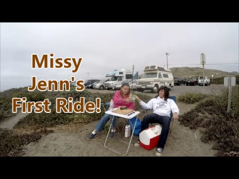 Oceanside Picnic + Jenn's First Ride...1988 Coachmen Class B RV Campervan