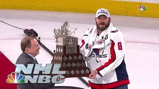 Capitals' Ovechkin presented Conn Smythe Trophy I NHL I NBC Sports
