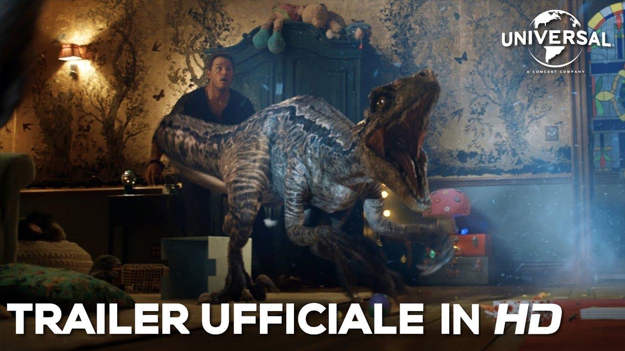 Jurassic world il regno distrutto trailer finale youtube